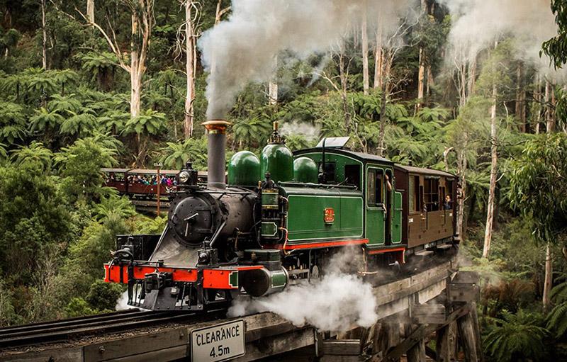 普芬蒸汽火車