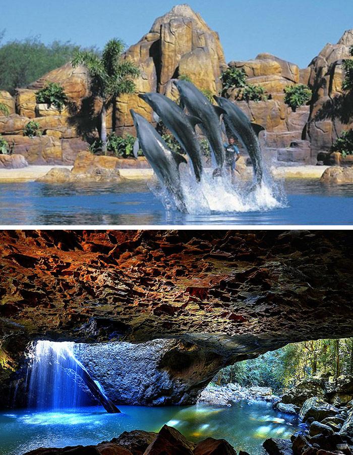 海洋世界 自然橋國家公園 黃金海岸
