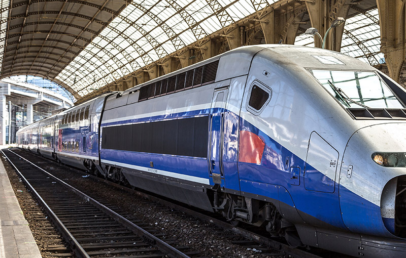 子彈列車TGV