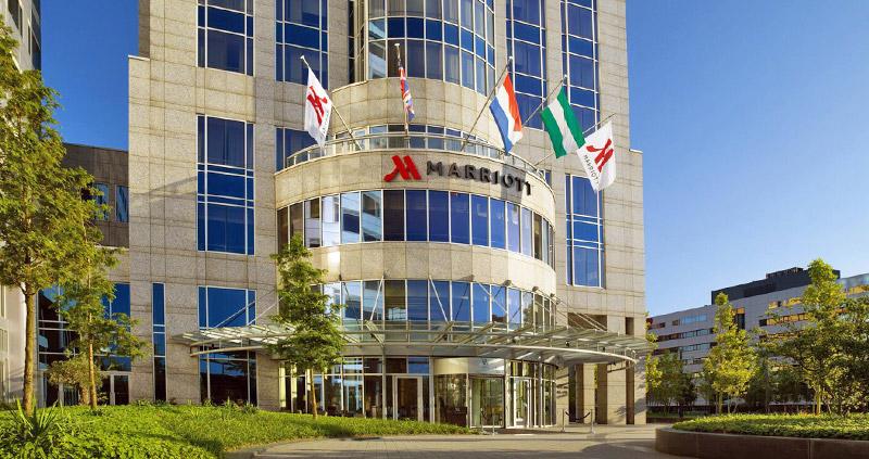 Marriott Rotterdam外觀