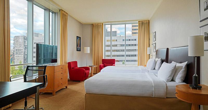Marriott Rotterdam客房