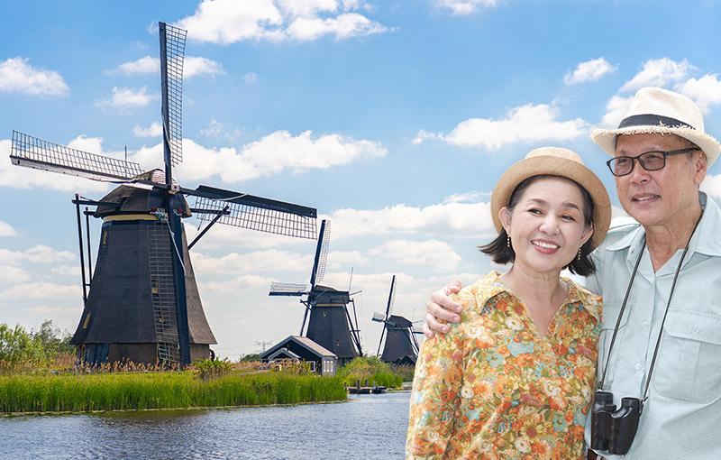 荷蘭+比利時+盧森堡旅遊