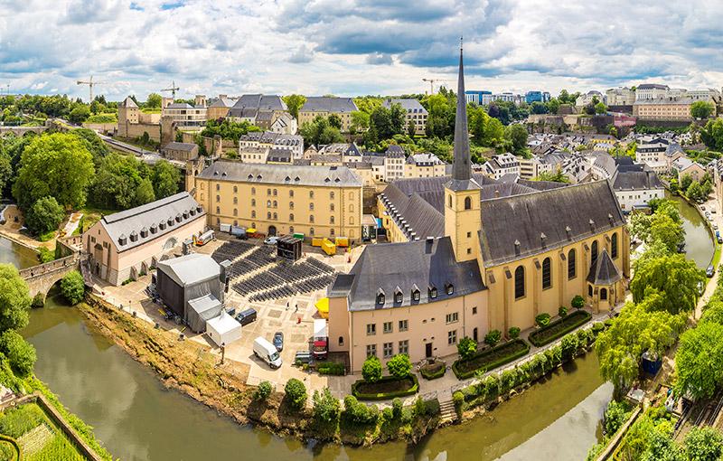 盧森堡市老城區及地下要塞