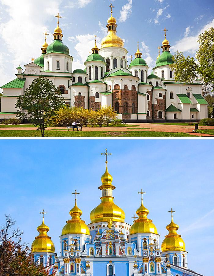 聖索菲亞大教堂 / 聖米迦勒金頂修道院