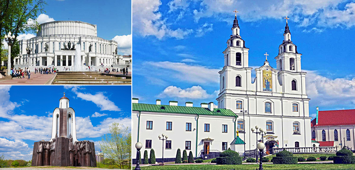 明斯克國家歌劇和芭蕾舞劇院 / 眼淚島 / 聖靈大教堂