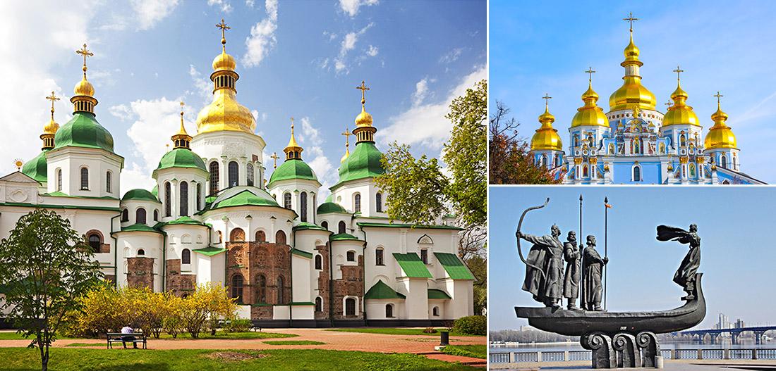 聖索菲亞大教堂 / 聖米迦勒金頂修道院 / 奠基者紀念碑