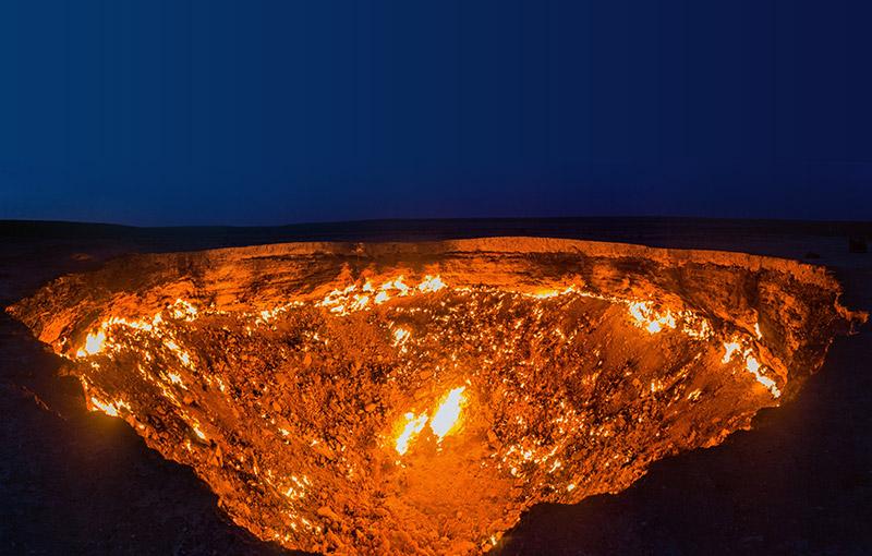 土庫曼地獄之門