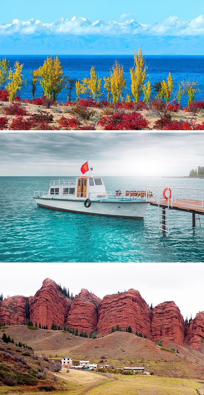 伊塞克湖/搭船暢遊熱海