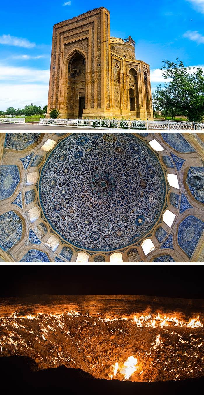 秋拉別克•哈努姆陵墓/穹頂/地獄之門
