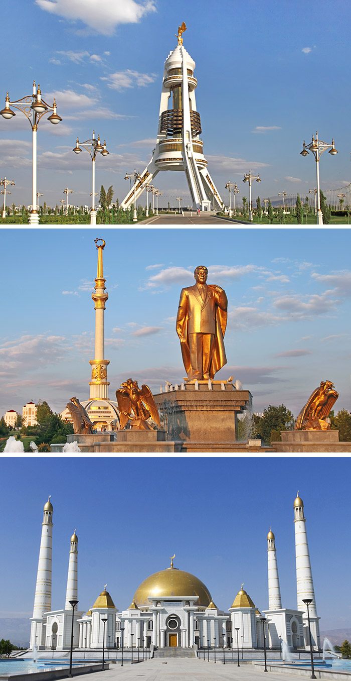 中立門/獨立公園/土庫曼巴希魯伊清真寺