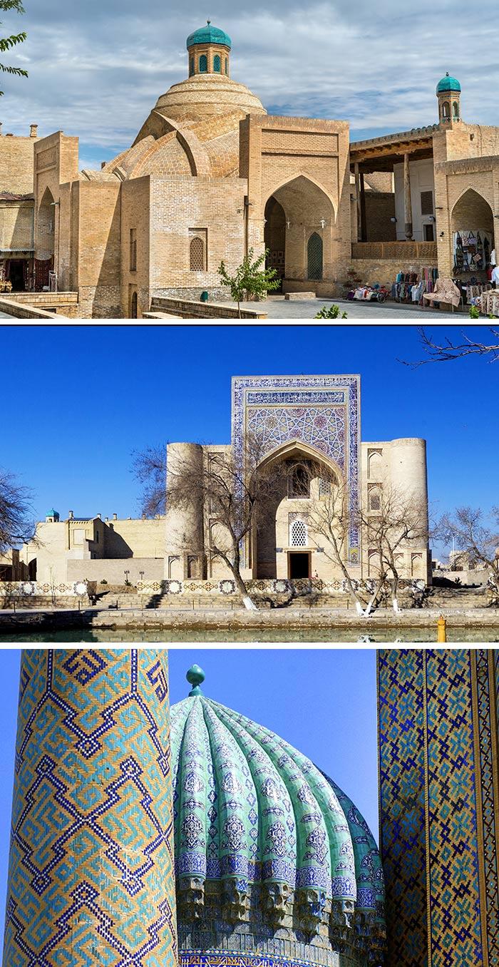 布哈拉/Lyabi Hauz Ensemble/布哈拉古代建築