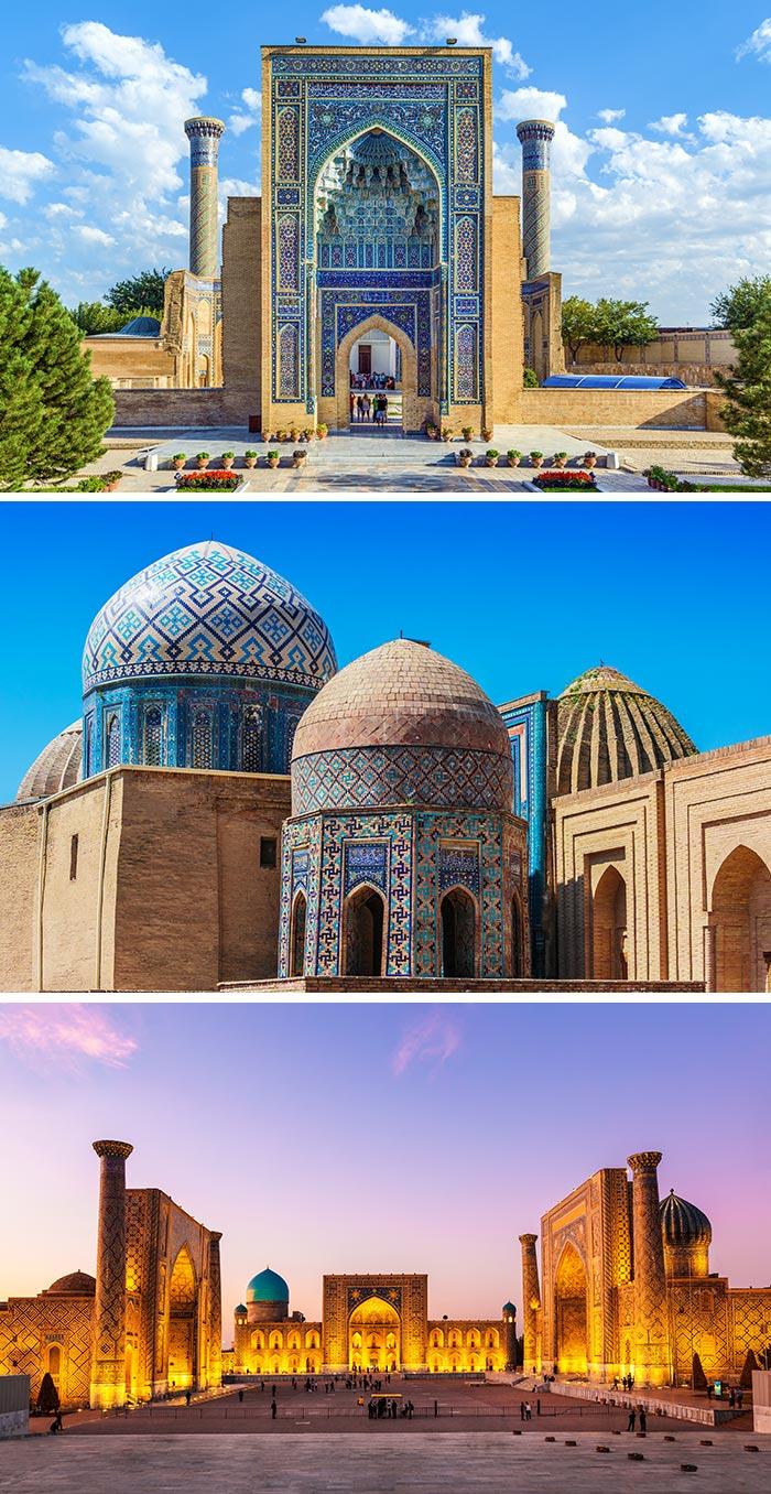 帖木兒陵寢/撒爾馬罕陵墓群/雷吉斯坦廣場