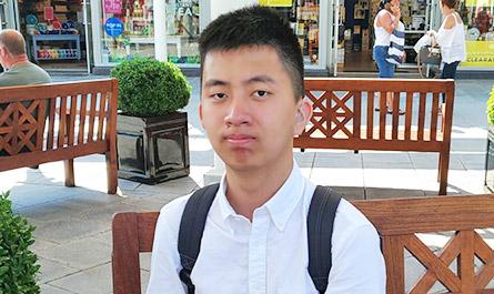 洪紹荃-英國公立中學短期留學營28天