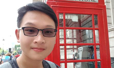 黃詠澤-英國倫敦大學探索營24天