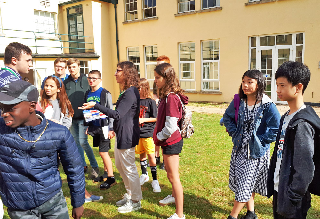 Day 2   倫敦-布魯頓貴族學院