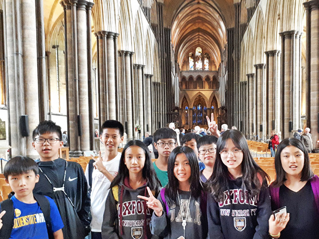 Day 7~8 遊學生活第二週(本周二下午索爾茲伯里大教堂之旅)