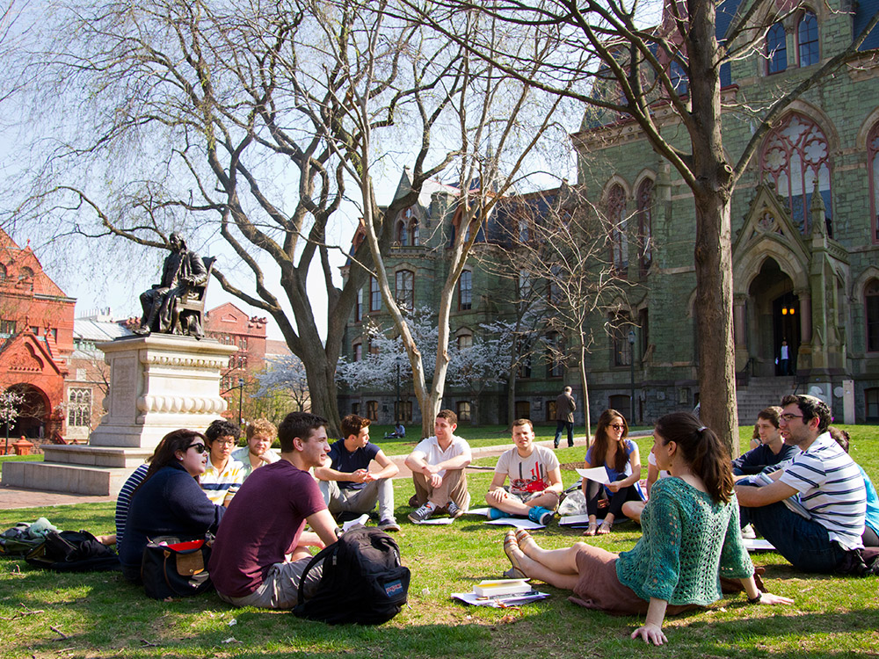 美國賓州大學遊學自由行